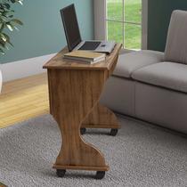 Mesa Para Computador Dobrável Dalla Costa C27 Nobre Fosco