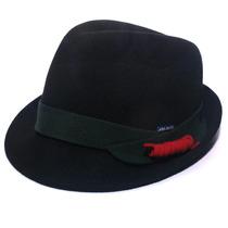 Chapéu Pajem Fedora Pralana Menino-preto-tamanho 48