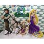 Kit Displays De Chão Rapunzel 8 Peças. Totens,painel Mdf 3mm