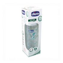 Mamadeira Chicco Vidro Nature Glass - 240 Ml