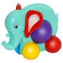 Brinquedo De Puxar Empurrar Bebê Animais Fofinhos Mercotoys Original