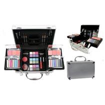 Maleta De Maquiagem Jasmyne 3d Completa 58 Itens + Brinde