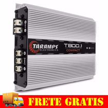 Modulo Taramps T800.1 Compact 1 Canal 800w Rms Mono Rca T800