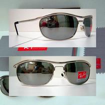 Óculos Demolidor 8012 Prata Lentes Espelhadas Frete Grátis