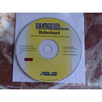 Cd Drivers Original Placa Mae Asus Via Kt400/333