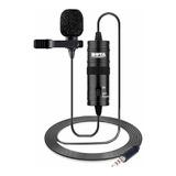 Microfone Boya By-m1 Omnidirecional Preto