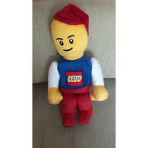 Boneco De Pelúcia Lego Grande 58 Cm