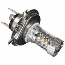 Lampada H4 Led Cree 80w 1200 Lumens Estilo Xenon Moto