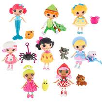 Mini Lalaloopsy Kit Com 16 Peças 8 Bonecas E 8 Pets