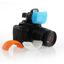 Difusores Para Flash Pop-up Kit C/3 Dif. Canon,nikon,fuji,