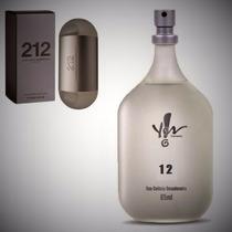 Perfume Deo Colônia 12 Inspiração 212 Carolina Yes! Fem.