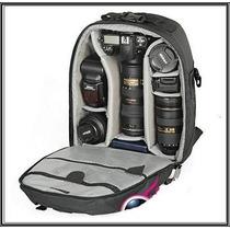 Mochila Para Máquina Fotográfica - Pronta Entrega