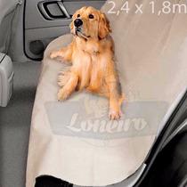 Capa Lona Protetora Banco Carro Cachorro Pata Enlameada Suja