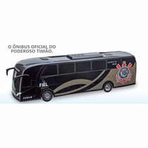 Brinquedo Onibus Infantil Iveco Corinthians Timão Fc Clube