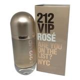 212 Vip Rose 50 Ml /100% Original E Lacrado + Amostra.