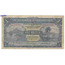 * Trindad And Tobago - 1 Dollar 2.1.1939 - P.5b - Bc *