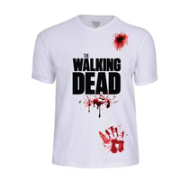 Camisas The Walking Dead Filme Serie Seriado Zumbi Camisetas