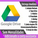 Google Drive Ilimitado - Adicionado À Sua Conta Atual Gmail
