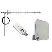 Kit Rural | Roteador Wifi D100 + Modem 3276 + Antena 15dbi