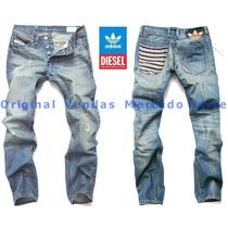 Calça Jeans Denim Masculina Adidas 2015 - Alta Qualidade