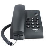 Telefone Fixo Com Fio Pleno Preto Intelbras Nota Fiscal