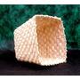 Cachepot- Vaso Bombom Palha De Milho-18 X 13 X 11-ecobalaio