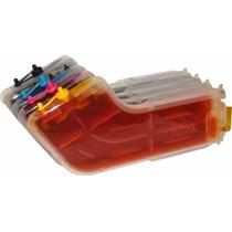 Cartucho Recarregavel Hp Pro 8000 8500 C/ Tintas Corantes