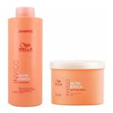 Wella Invigo Nutri Enrich - Kit Shampoo 1l + Mascara 500ml