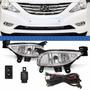 Kit Farol Milha Hyundai Sonata 14 13 12 11 10 Auxiliar