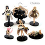 Kit Chobits 6 Pcs Figurine Figure Set Pvc Toy Anime 10 Cm