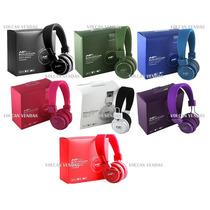 Fone Ouvido Headphone Sem Fio Lcd Beats Mp3 Fm Micro Sd Radi