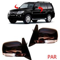 Par Retrovisor Pajero Full C/ Pisca 2008 09 2010 11 12 13 14