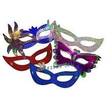 Kit 120 Máscara Holográfica - Festa Casamento Balada