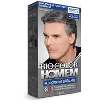 Tonalizante Biocolor Homem Grisalhos- Cabelo, Barba E Bigode