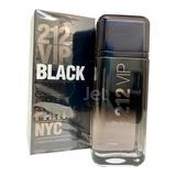 Perfume 212 Vip Black Masculino Edp 200ml + Amostra Brinde