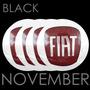 Boton Emblema Logo Calotinha Alumínio 55mm Fiat Vermelho