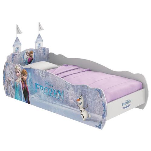 Cama Com Torre Frozen Disney Star Pura Magia Branco