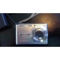 Câmera Fotográfica Casio Exlim Ex-s600+bat+cartão