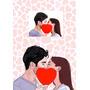 Caricatura Digital Para Convites Noivos Desenho Fotos Arte