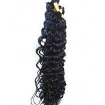Cabelo Mega Hair Cacheado A Vapor 70 Cm 50 Gramas.