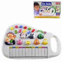 Teclado Infantil Musical Sons Animais Piano Eletrônico