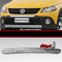Spoiler Do Parachoque Vw Gol E Saveiro Cross G5 Original*
