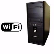 Pc Cpu Intel Core I3 / 4gb/ 500gb/ Wi-fi/ Dvd 1 Ano Garantia