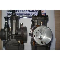 Carburador Koso 34mm Power Jet Pwk Guilhotina Competição