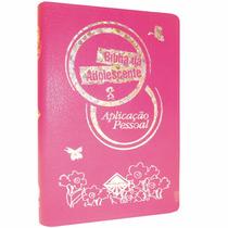 Gospel Commerce Bíblia Da Adolescente Aplicação Pessoal Luxo