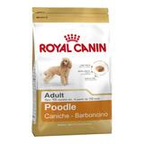 Ração Royal Canin Poodle Breed Health Nutrition Cachorro Adulto 1kg