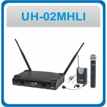 Sistema De Microfone Sem Fio Lyco Vhf - Uh02mhll
