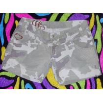 Sshorts Jeans Feminino Marca Maresia Tam. 42 S/ Strech S4