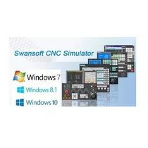 Simulador Torno Cnc E Centro De Usinagem V7.2.2 + Português