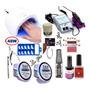 Kit Unhas Gel Uv Acrygel Produto Unhas Fibra Vidro Primer N5 Original